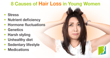 8-causes-of-hair-loss-in-young-women